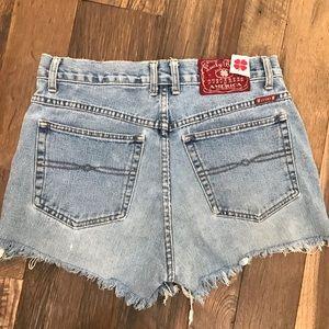 Lucky Brand Vintage High Rise Shorts Wm 32